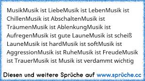 Musikmusik Ist Liebemusik Ist Lebenmusik Ist Chillenmusik Ist