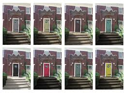 Front Door Paint Ideas For Red Brick House