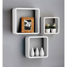 Creative Shelf Wood Cube Wall Shelf