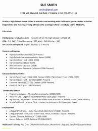 Sample Resume For High School Junior Elegant Photos Resume Templates