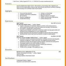 Free Teacher Resume Template Free Teaching Resume Templates Fred Resumes 46