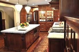 Dark Mahogany Kitchen Cabinets Image Of Natural Cherry Kitchen Cabinets Image Gallery Of Modern