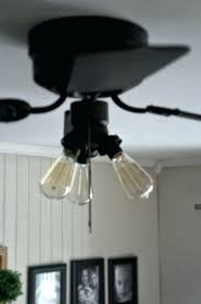 ceiling fan with edison bulbs amazing bulb brilliant hunter intended for modern home inside 6