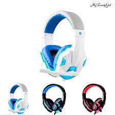 Tai Nghe Chơi Game Có Mic Và Đèn Led Cho Pc Laptop - Tai nghe Bluetooth  chụp tai Over-ear