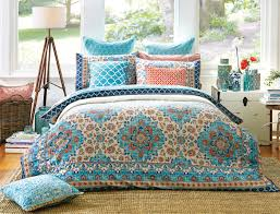 Reminiscent of Turkish tile patterns, the Bosphorus quilt cover ... & Reminiscent of Turkish tile patterns, the Bosphorus quilt cover brings  together a beautiful mix of Adamdwight.com