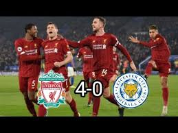 W w w w w. Liverpool Vs Leicester City 4 0 All Goals And Match Highlights Youtube