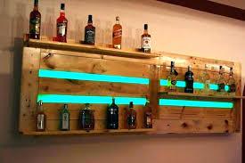 bar wall shelves for liquor rack bottle within inspirations 6 liquor display shelves bar liquor display shelves