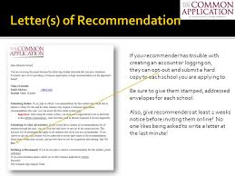 Common App Letter Of Recommendation Sample - April.onthemarch.co