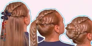 účesy Pre Stredného Veku Vlasov V škole Ako Urobiť Krásny Obraz