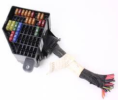 under dash fuse box panel vw passat b genuine under dash fuse box panel 06 10 vw passat b6 genuine