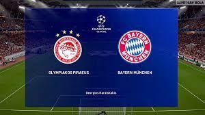 Olympiakos vs Bayern Munich • UEFA Champions League Gameplay 2019/2020 [PES  2019] - YouTube