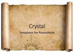 Scroll Powerpoint Template Papyrus Antique Powerpoint Templates W Papyrus Antique