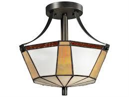 dale tiffany visalia two light semi flush mount light