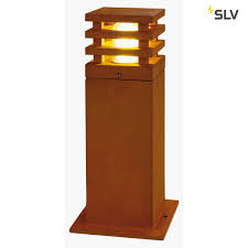 Slv Rusty Square 40 Led Geroest Staal 1xled 3000k Roestkleurige