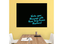 dry erase extra large black board removable wall decal fathead wall decal