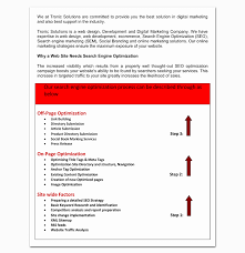 Sample Seo Proposal Elegant Seo Proposal Template Pdf Choice Image ...