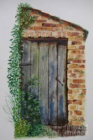 door painting old door by kim shayler
