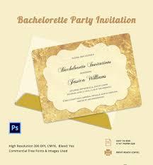 bachelorette invitation template 40 psd vector eps ai customisable bachelorette party invitation template