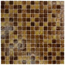 home and furniture attractive brown mosaic tile in msi pacific dunes mounted blend glass reviews