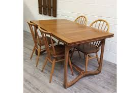 rare ecol model 519 extending dining table photo 1