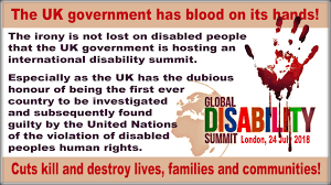 Image result for Human rights disabled people UK