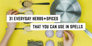 31 Everyday Herbs And Spices That You Can Use In Spells