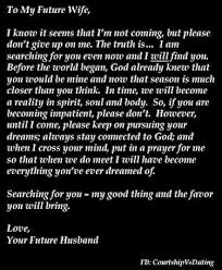 Future Wifey Quotes This Gives Me Hope That He IS Out There AND He's Searching For Me 1