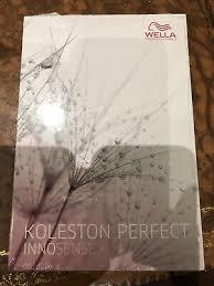 Koleston Perfect Innosense Colour Chart Wella Koleston Innosense Colour Chart Mini 10 00
