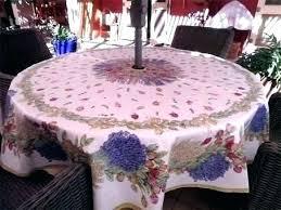 patio table tablecloths vinyl umbrella tablecloth with zipper round patio table tablecloth round patio table cover