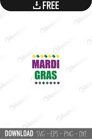 Remember if you have the basic version of silhouette studio you will only be able to open up the dxf file. Free Mardi Gras Svg Cut Files Bundlesvg