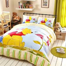 classic pooh crib bedding set cartoon set the pooh queen bedding set cotton kids boys bedspread classic pooh crib bedding
