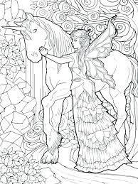 Free Printable Fairy Coloring Pages For Adults Fairy Coloring Pages