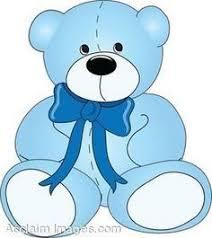 Teddy Bear Chart Baby Boy Teddy Bear Graph And Word Chart Crochet By