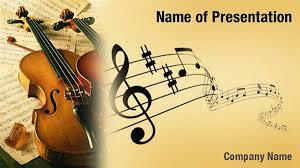 Music Powerpoint Template Violin Music Powerpoint Templates Violin Music Powerpoint