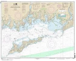 13214 Fishers Island Sound Nautical Chart