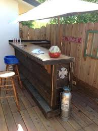 small outdoor bar plans smart and delightful ideas to try bars portable designs