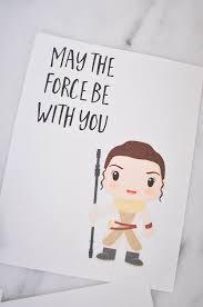 Star wars i love you card. Crazy Fun Star Wars Valentine Ideas The Taylor House