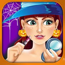 salon spa make up kids games free