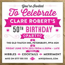 celebration invite personalised celebration birthday party invite