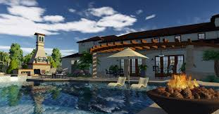 Swimming Pool Landscaping Designs 3d Pool And Landscaping Design Software Overview Vip3d