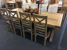 extended dining tables uk. provence solid oak extra large extending dining table extended tables uk