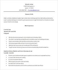 What Does A Good Resume Look Like Interesting What A Resume Should Look Like For A Highschool Student Resume