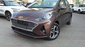 Hyundai Aura <b>Vintage Brown</b> Color in Outdoor|Exterior ...