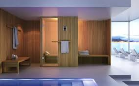 HITA, Sauna for modern bathroom, wooden, innovative and functional