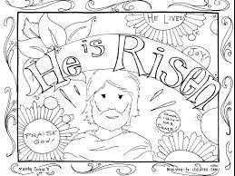 Free Religious Coloring Pages To Print Easter Bible Printable