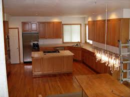 Natural Cherry Cabinets Oak Cabinets With Dark Floors Honey Oak Cabinets With Dark Floor
