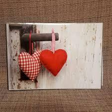 Photo Album With Hearts And Door Handle
