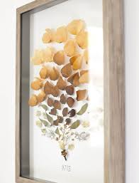 a new bloom - design, food, style, diy: DIY Dried Flower Shadow