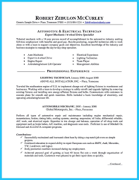 Sample Resume Auto Mechanic Nice Delivering Your Credentials Effectively On Auto