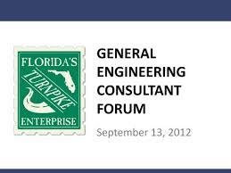 General Engineering Consultant Forum Floridas Turnpike